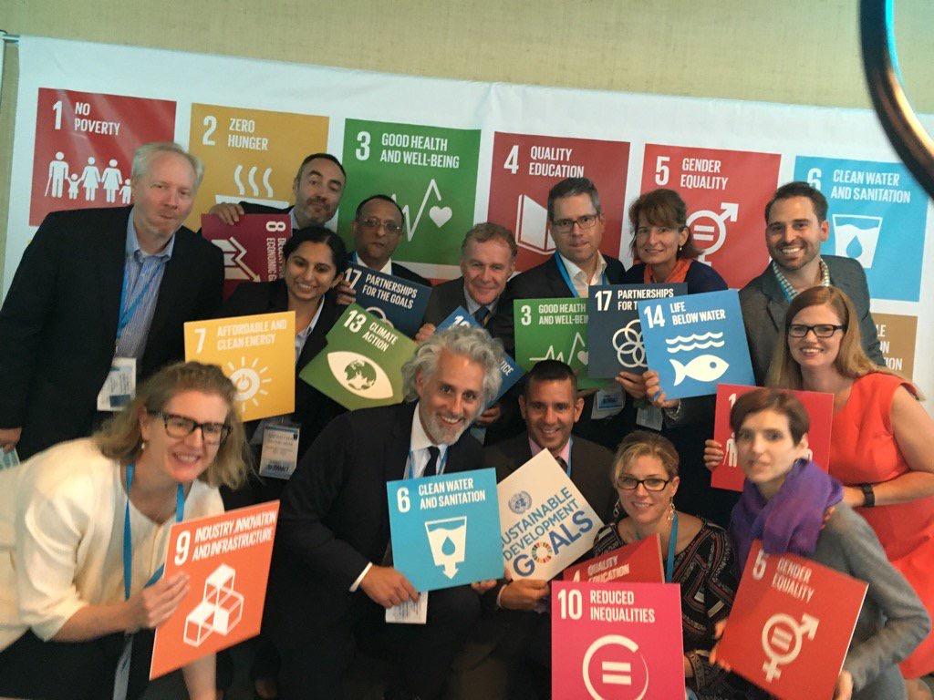 Vrijwilligerswerk is grenzeloos! Goede Zaken bij de UN in New York